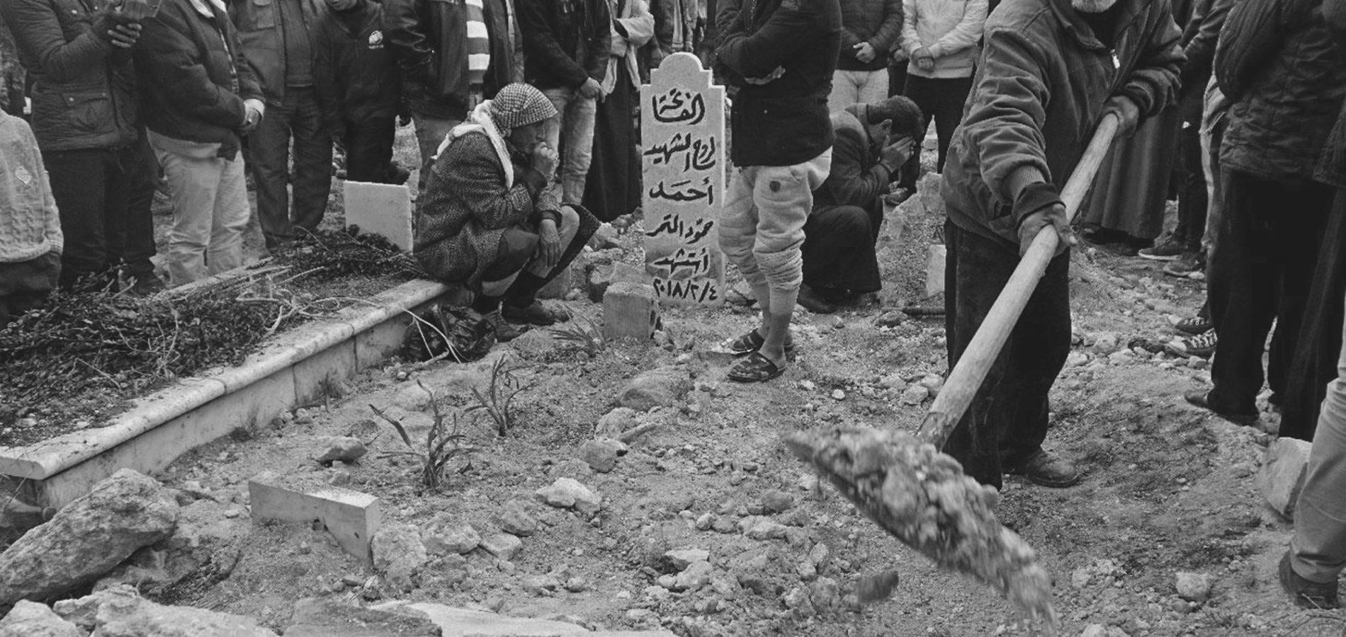 Begrafenis Idlib