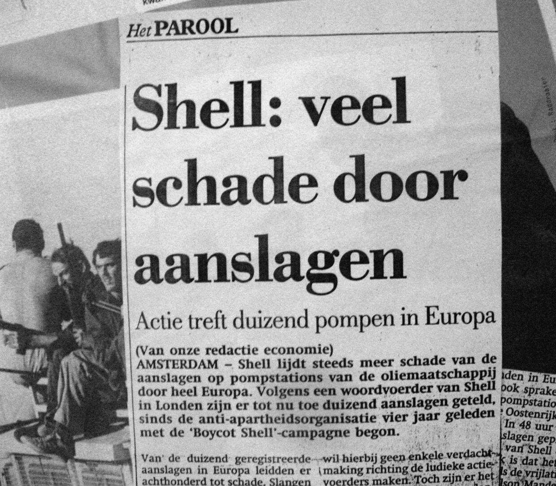 Shell: veel schade door aanslagen (Het Parool)
